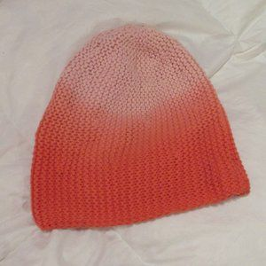 American Eagle Outfitters Orange Ombre Beanie
